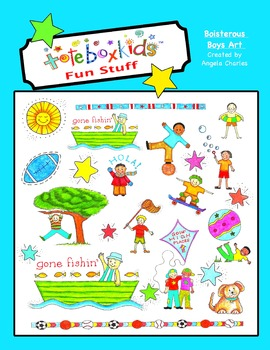 Tote Box Kids™ Boisterous Boys Collection
