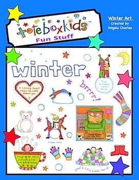 Tote Box Kids™ Winter Art Collection