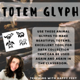 Totem Pole Animal Glyph