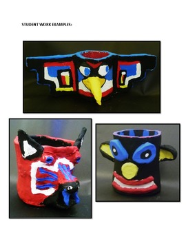 Totem Pole Ceramics Unit