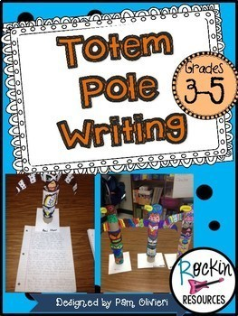 Native American Totem Pole Writing and Craft