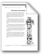 Totem Poles-Faces of Wood (Nonfiction)