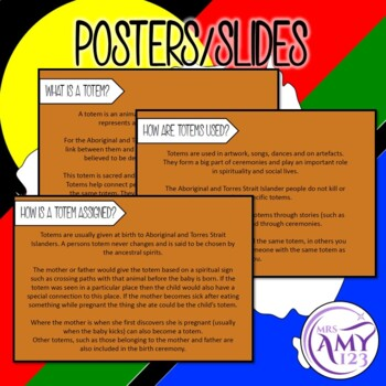 Totems Presentation and Worksheet
