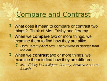 Toto - Compare and Contrast - Open Court Reading