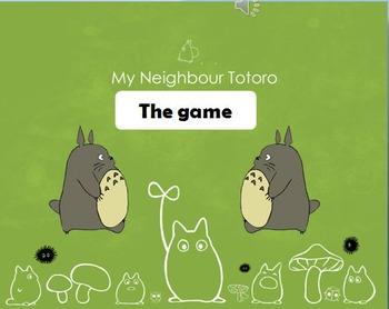 Totoro bomb game