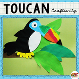 Toucan Craftivity Template
