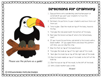 Toucan Cut and Paste