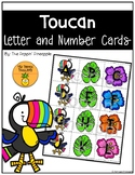 Toucan Letter and Number Cards