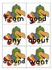 Dolch Sight Words List 5 Jungle Theme