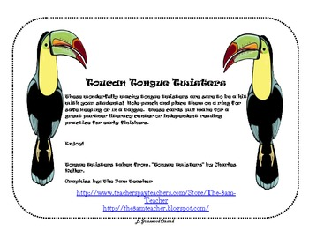 Toucan Tongue Twisters