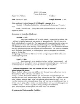 Toucans by Mary Ann McDonald  Read Aloud Plan