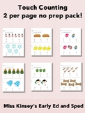 Touch Counting 1-10 No Prep Packet!