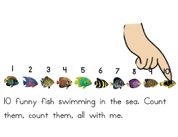 Touch Counting Book