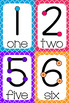 Touch Counting Posters - Bright Quatrefoil Background