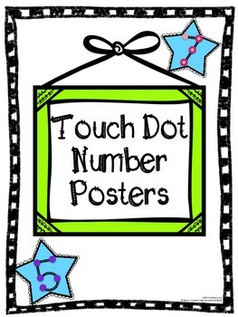 Touch Dot Number Posters