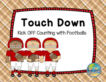 Touch Down!!  Kick Off Counting with Ten Frames!