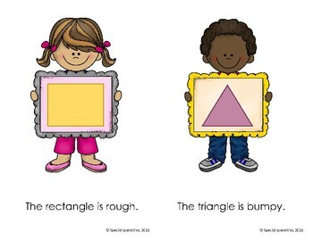 Touch & Feel 2D Shapes Book