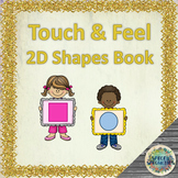 Touch & Feel 2D Shapes Interactive Book