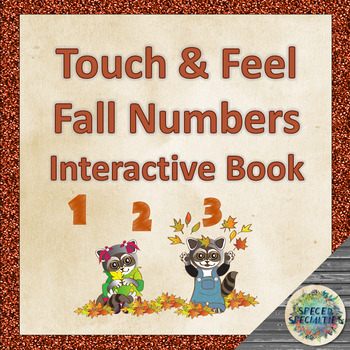 Touch & Feel Fall Numbers Interactive Book