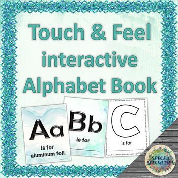 Touch & Feel Tactile Alphabet Interactive Book