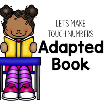 Touch Math Adapted Book