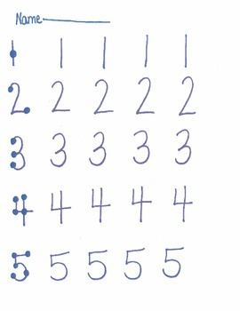 Touch Math Addition 1's Worksheets by Carrie Riffle | TpT