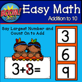 Touch Math Addition Facts BOOM CARDS