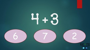 Touch Math Addition Practice PDF App