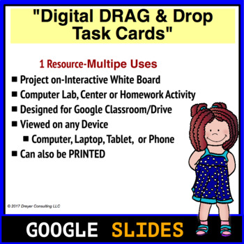 Touch Math Addition to 10: Digital Task Cards