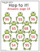Touch Math Addition with Frog Theme: Double Digit Addition