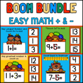 Touch Math Bundle: BOOM CARDS