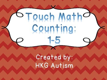 (Adapted Book) Touch Math Counting : 1-5