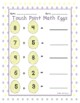 Touch Math Easter Worksheets