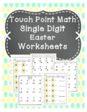 Touch Point Math Easter Worksheets