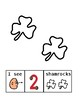 Touch Math Shamrock Counting 1 to 9: Shamrocks and St. Patricks Day