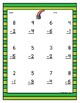 Touch Math St. Patrick's Day Worksheets