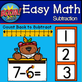 Touch Math Subtraction from 10: BOOM CARDS