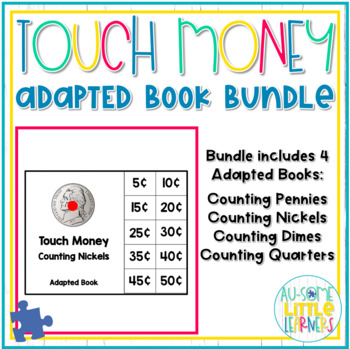 Touch Money Adapted Books Bundle - Counting Like Coins - #springintosped2