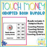 Touch Money Adapted Books Bundle - Counting Like Coins