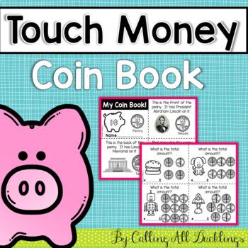 Touch Money Coin Book Vertical