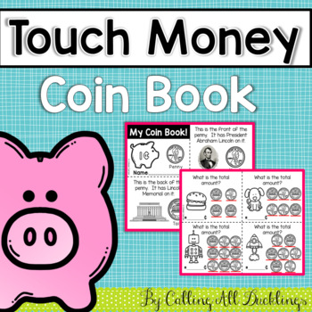 Touch Money Coin Book Horizontal