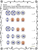 Touch Money Coin Counting