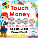 Touch Money Horizontal PowerPoint and Google Slides