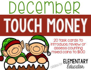 Touch Money: December Task Cards