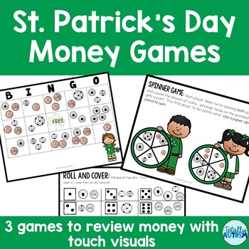 Touch Money Games: St. Patrick's Day