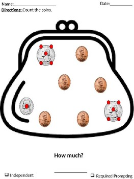 Touch Money Math *Coin Purse and Wallet Edition*