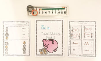 Touch Money Printable Packet for Students with Special Needs