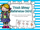 Touch Money Reference Cards