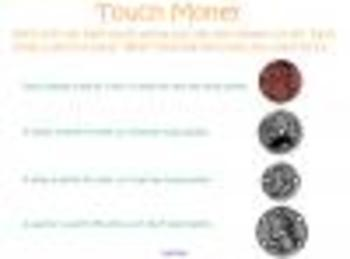 Touch Money Smartboard Lesson
