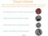 Touch Money Smartboard Lesson